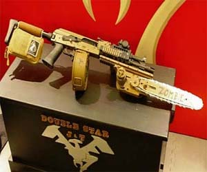 AK-47 Rifle With Chainsaw
