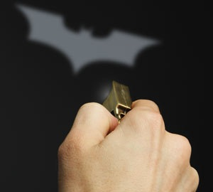 Bat Signal Keychain Light