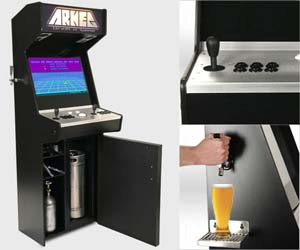 Beer Tap Arcade Machine