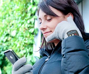 Bluetooth Phone Handset Gloves