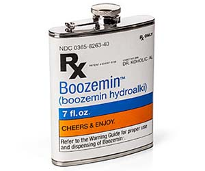 Booze Prescription Flask