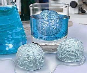 Brain Freeze Ice Cubes