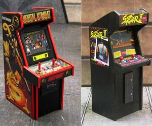 Collectible Mini Arcades