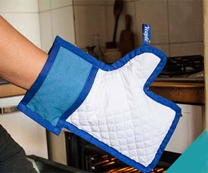 Facebook Like Button Oven Mitt