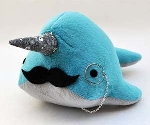Fancy Narwhal Plushie