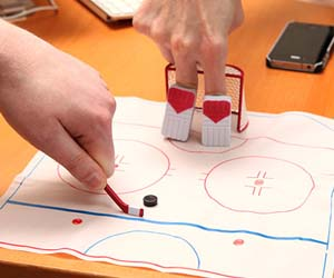Finger Hockey Game