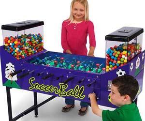 Foosball Gumball Table
