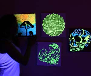 Glow In The Dark Paintings