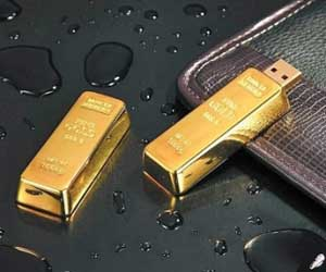 Gold Bar USB Drive