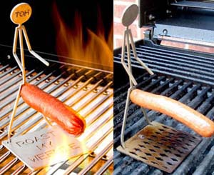 Human Hot Dog Cooker