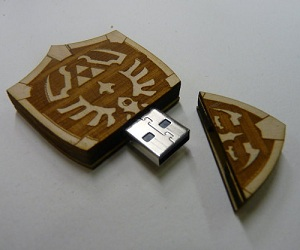 Zelda Hyrule Shield USB Drive