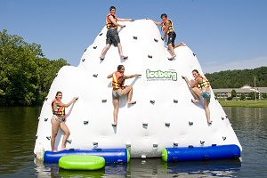 Inflatable 14′ Climbable Iceberg