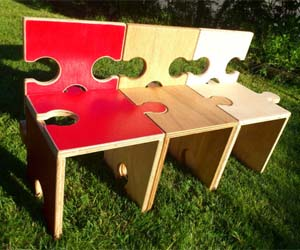 Jigsaw Puzzle Chairs
