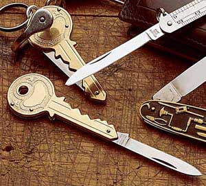 Key Shaped Knife