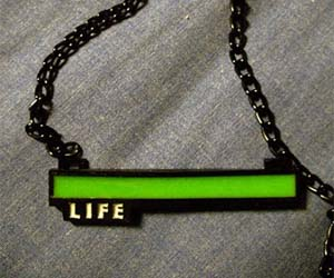 Life Bar Necklace