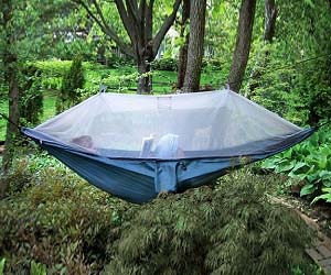 Netted Cocoon Hammock