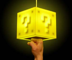 Question Block Lamp