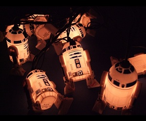 Mini R2-D2 Lights