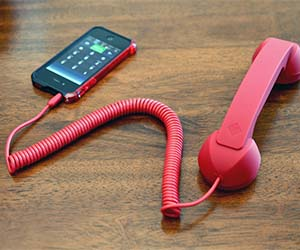 Retro Corded Phone Handset