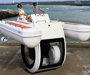 Semi-Submarine Boat