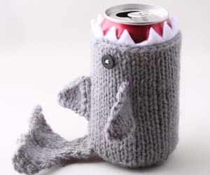 Shark Drink Cozy