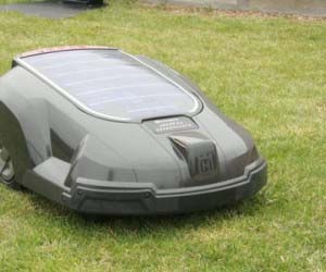 Solar Powered Auto Lawn Mower