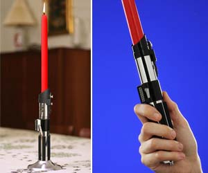 Star Wars Lightsaber Candles
