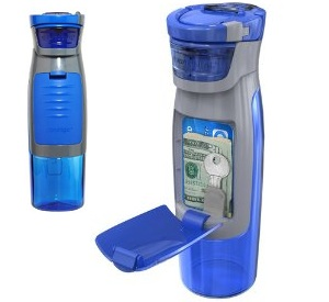 Water Bottle With Compartment