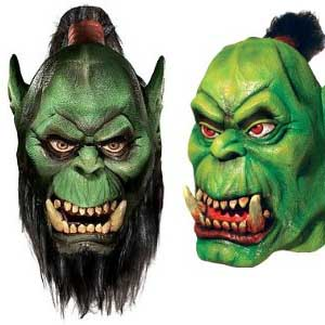 World Of Warcraft Orc Masks