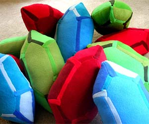 Zelda Rupee Pillows