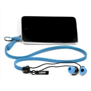 Tangle Free Zip-Up Earbuds